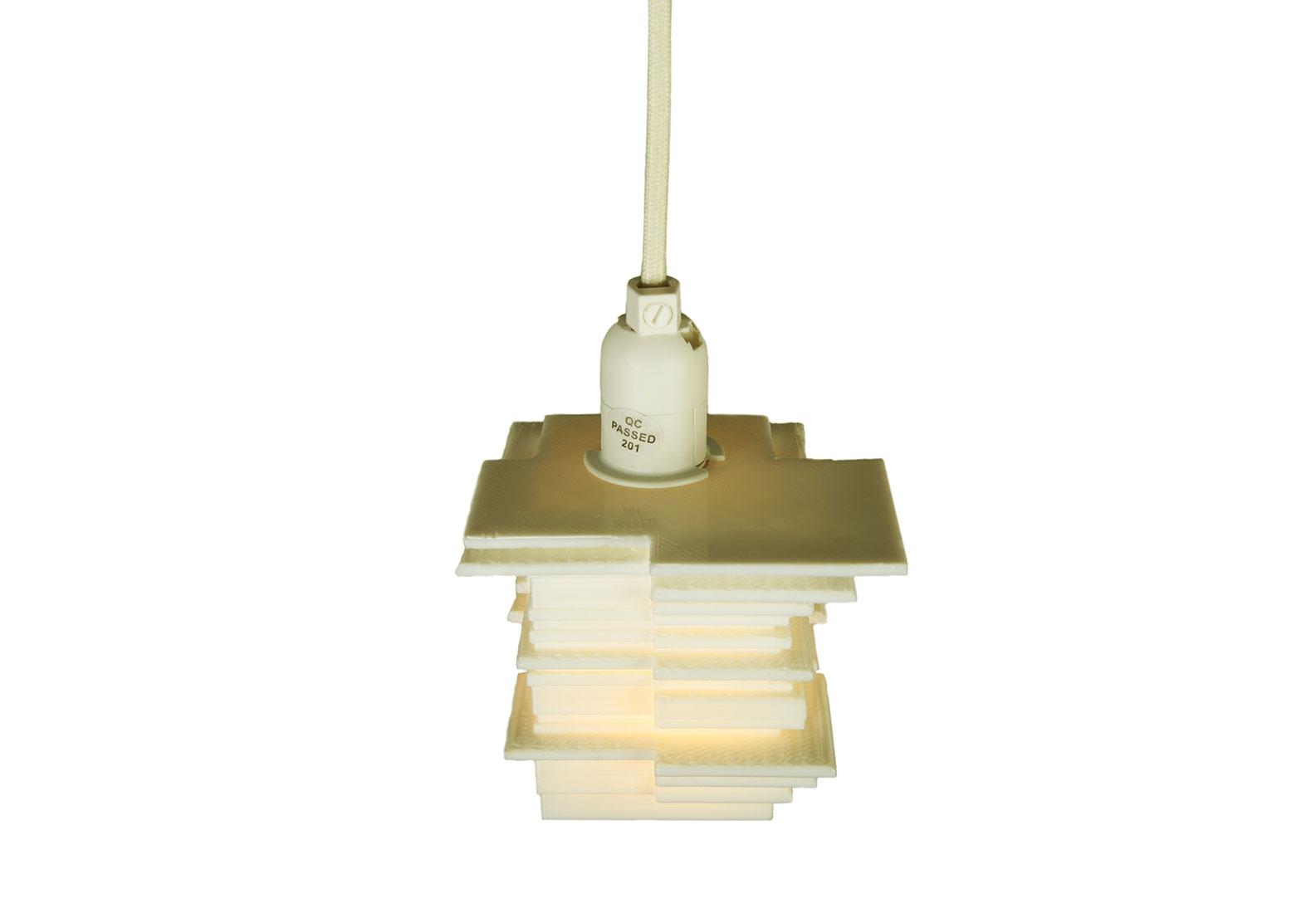 Lampe von oben.