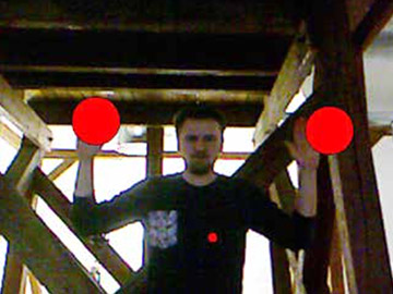 Motion-Tracking via XBOX Kinect